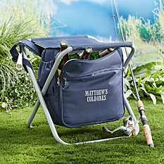 Sit & Sip Backpack Cooler Travel Chair