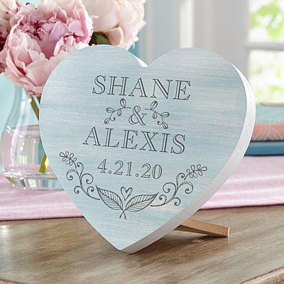 True Love Mini Wood Heart