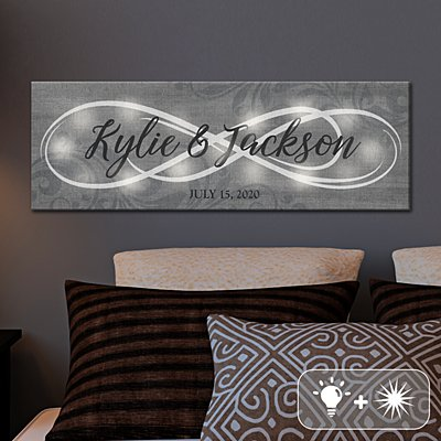 TwinkleBright™ LED Infinity Canvas