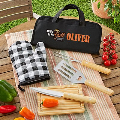 Up In My Grill 5 Piece BBQ Set