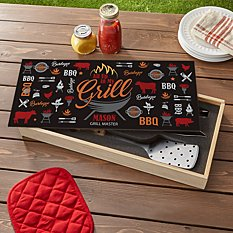 Up In My Grill BBQ Tool Set