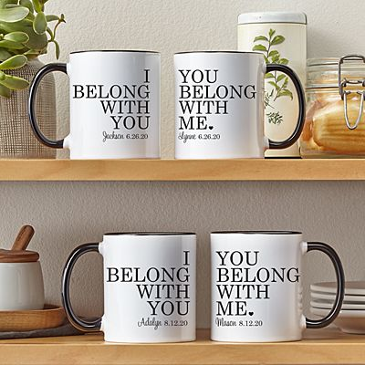 We Belong Together 11oz Mug Set