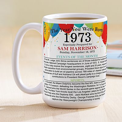 Year You Were Born 15oz Mug