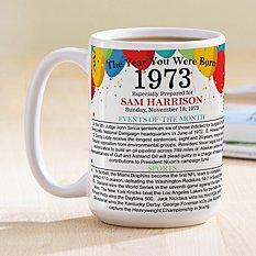 Year You Were Born Mug