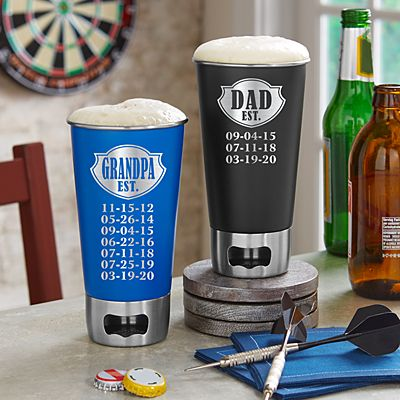 Established Beer Bottle Opening Tumbler