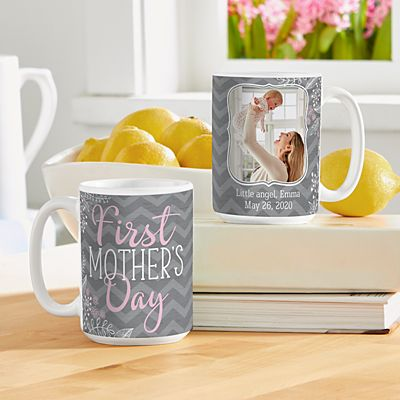 First Mother's Day Photo 15oz Mug