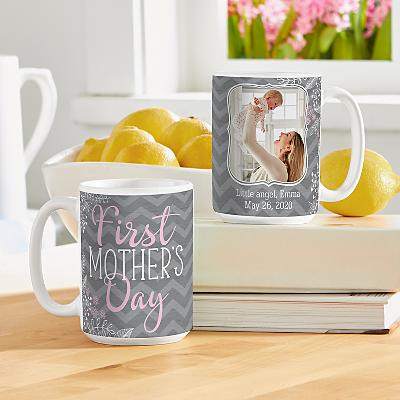 First Mother's Day Photo Mug