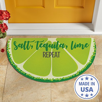 Fun Fruit Half Round Doormat