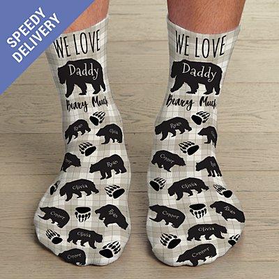 Love You Beary Much Socks