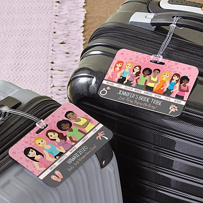 Besties Luggage Tag