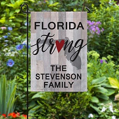 Be Strong Garden Flag