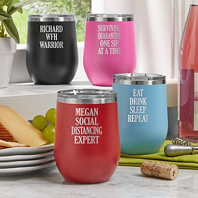 Create Your Own Wine Tumbler