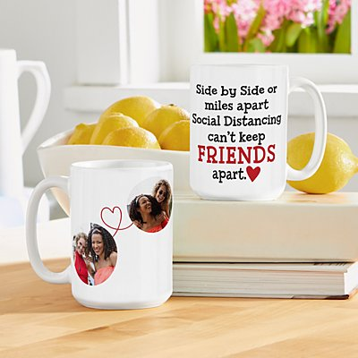 Miles Apart Social Distancing Photo 15oz Mug