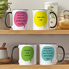 Positive Quotes Mug