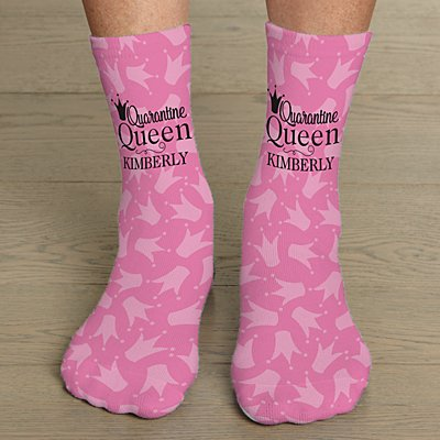 Quarantine Queen Socks