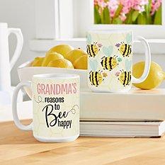 Reasons to Bee Happy Mug