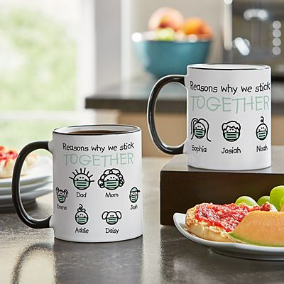 Reasons Why We Stick Together Mug