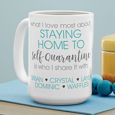 Self-Quarantine 15oz Mug
