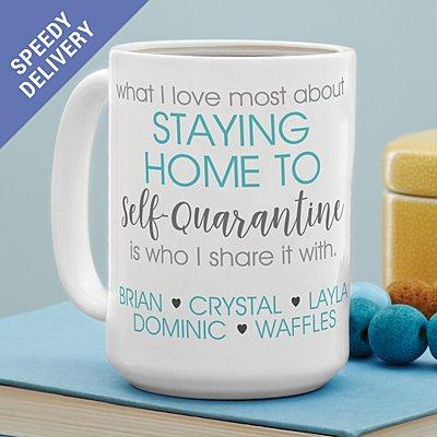 Self-Quarantine Mug