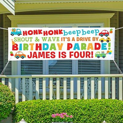 Honk Honk Birthday Banner