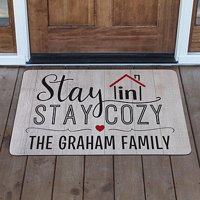Stay In Stay Cozy Doormat
