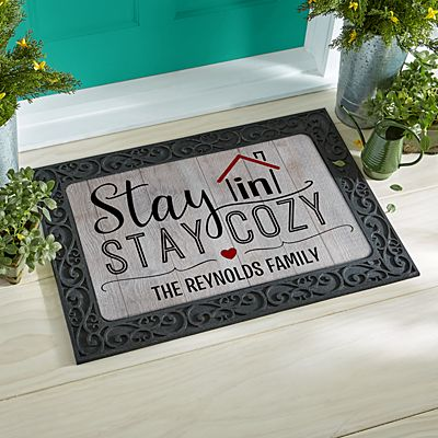Stay In Stay Cozy Doormat