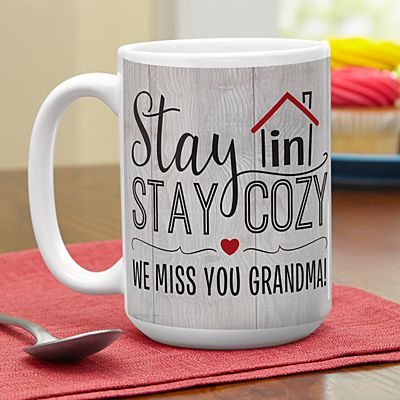 Stay In Stay Cozy 15oz Mug