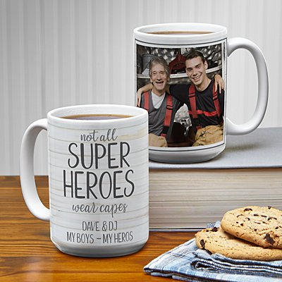 Super Hero Photo 15oz Mug