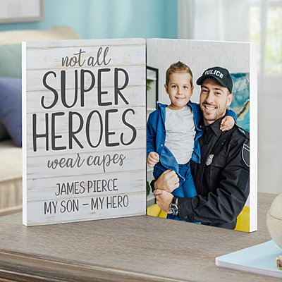 Super Hero Photo Panel