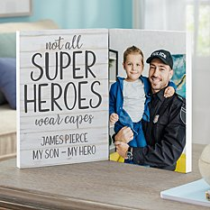 Super Hero Photo Panel