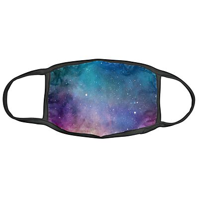 Karma® Allover Galaxy Print Adult 3 Pack Washable Facemasks