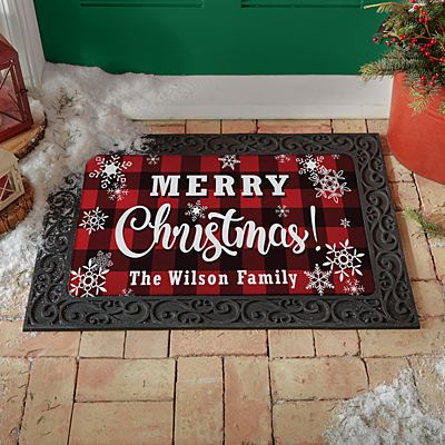 Cozy Christmas Doormat
