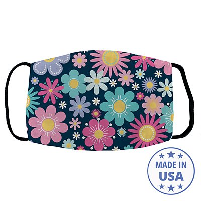 Allover Print Facemask - Pretty Petals