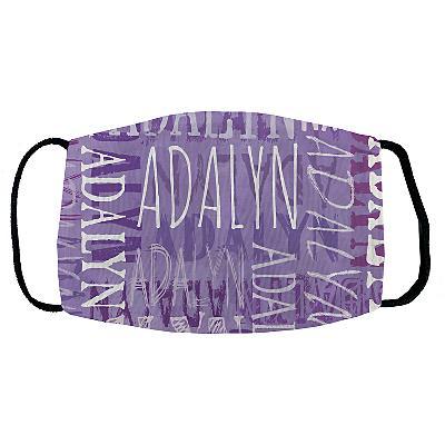 Signature Style Face Mask - Purple