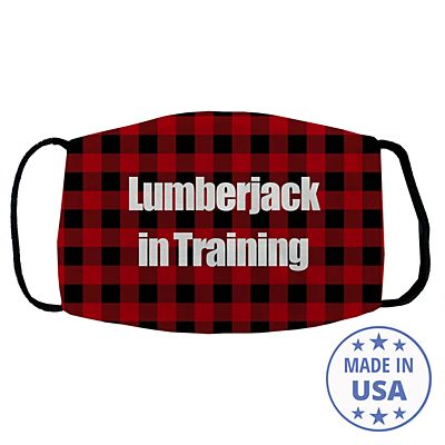 Sophisticated Print Face Mask - Buffalo Plaid