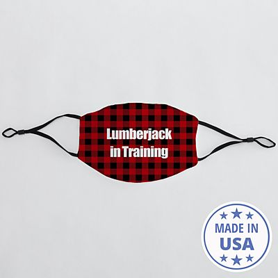 Sophisticated Print Adult Face Mask - Buffalo Plaid