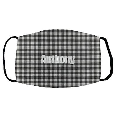 Sophisticated Print Face Mask - Gingham