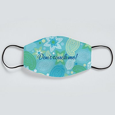 Sophisticated Print Adult Face Mask - Paisley