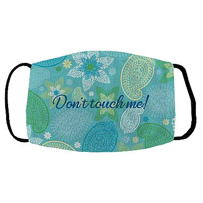 Sophisticated Print Face Mask - Paisley