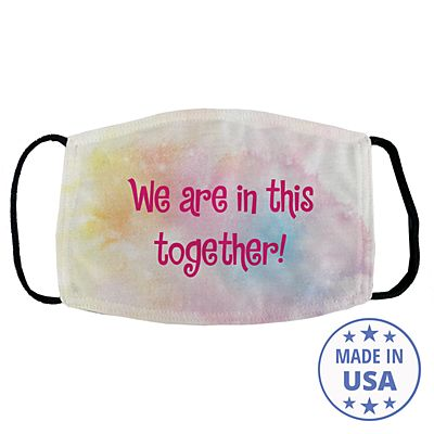 Sophisticated Print Face Mask - Rainbow
