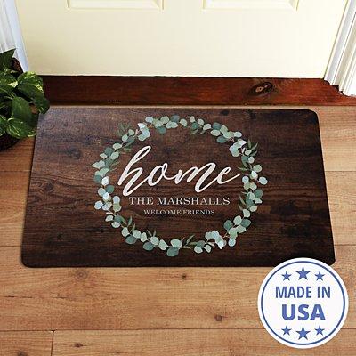 Leafy Home Doormat