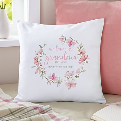 Love Because Throw Pillow