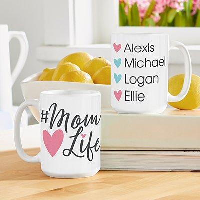 #Mom Life Mug