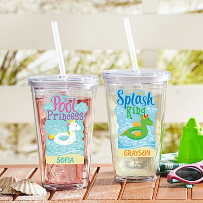 Poolside Royalty Insulated Tumbler