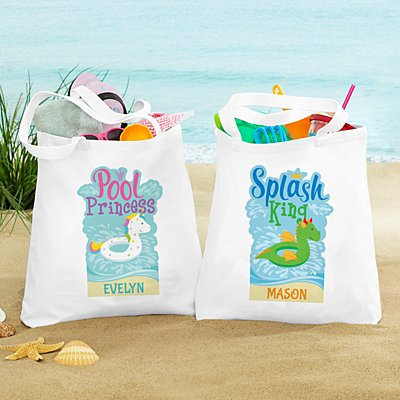 Poolside Royalty Tote Bag