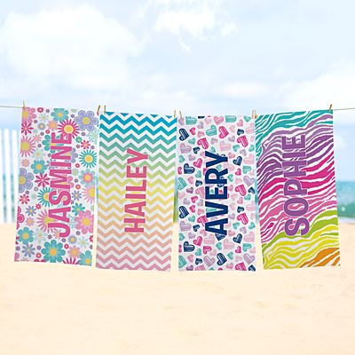 Pretty Pattern Beach Towel