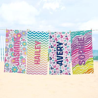 Pretty Pattern Beach Towel