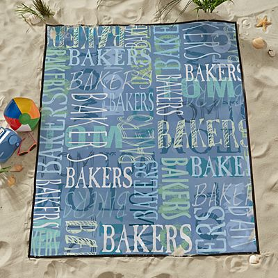 Signature Style Beach Blanket