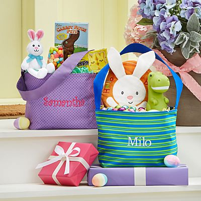 Stephen Joseph® Fun Print Easter Tote Bag