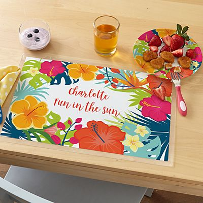 Summer Vibes Personalized Tableware